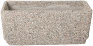Вазон декорований гранітною крихтою Пролісок малий 70х25х30 см