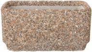 Вазон декорований галькою Пролісок великий 80х40х40 см