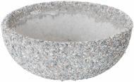 Вазон декорований гранітною крихтою Чаша 50х19 см