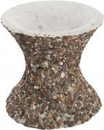 Стійка для чаші декорована галькою 30x30 см