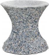 Стійка для чаші декорована гранітною крихтою 30x30 см