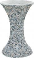 Стійка для чаші декорована гранітною крихтою 30x49 см