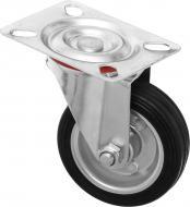 Колесо поворотне з площадкою d75 мм 36075