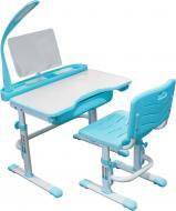 Комплект Evo-kids парта і стілець Evo-18 (з лампою) BL