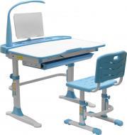 Комплект Evo-kids парта і стілець Evo-19 (з лампою) BL