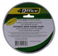 Скотч двосторонній 12 мм x 2 м 4-394 4Office