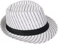 Капелюх молодіжний Stripe р. one size білий із чорним