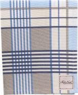 Серветка La Nuit Шато клітинка синя 45x35 см синій