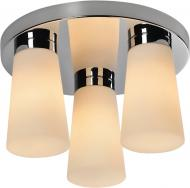 Люстра стельова TK Lighting Aqua 3x40 Вт E14 білий/хром 4013