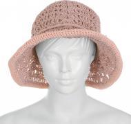 Купити. Хіт Капелюх з середніми полями Санта р. one size рожево-бежевий e82f8752e0e3d