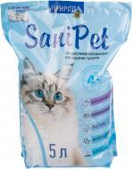 Наповнювач для котячого туалету Природа Sani Pet 5 л
