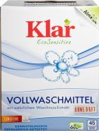 Пральний порошок для машинного та ручного прання Klar EcoSensitive 2,475 кг