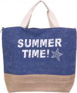 Сумка пляжна Summer Time синій