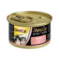 Корм Gimpet ShinyCat Kitten з куркою 70 г