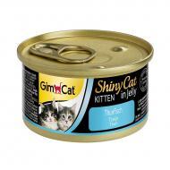Корм Gimpet ShinyCat Kitten з тунцем 70 г