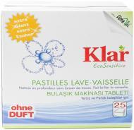 Таблетки для ПММ Klar Eco Sensitiv 25 шт.