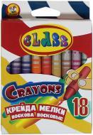 Крейда воскова Class 18 кольорів CLASS