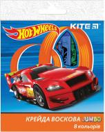 Крейда воскова Hot Wheels НW17-076, 8 шт. KITE