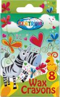 Олівці воскові 8 кольорів Giraffe 80594 Centrum