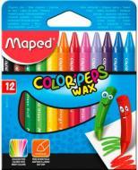 Крейда воскова Color Peps Wax, 12 шт. Maped