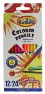 Олівці кольорові двосторонні Premium 24 шт. CLASS
