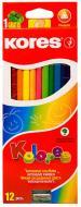 Олівці кольорові K93312, 12 шт. Kores