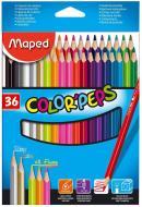 Олівці кольорові Color Peps Classic, 36 шт. Maped