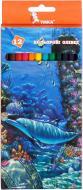 Олівці кольорові Підводний світ 12 кольорів ЦК42-10 Умка