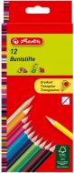Олівці кольорові Triangular 10412021, 12 шт. Herlitz