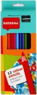 Олівці кольорові 201250002, 12 шт. Nataraj