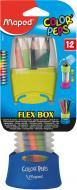 Олівці кольорові Flex Box Color'Peps, 12 шт. Maped