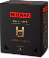 Чай чорний Hillway Exclusive Golden Ceylon 100 шт. 100 г