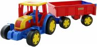 Трактор Wader Гігант з причіпом 66100