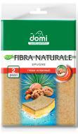 Губка для миття посуду Domi Fibra naturale 2 шт.