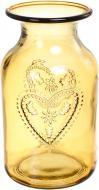 Ваза стеклянная Желто-золотой CORAZON San Miguel
