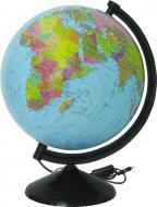 Глобус політичний з підсвічуванням 260 мм