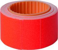 Цінник D 4 друкований 4 метри 111 шт. 5 роликів 29x36 червоний