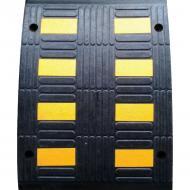 Обмежувач швидкості Резинопласт гумовий (середня частична) 500х650х52 мм