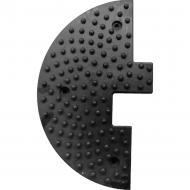 Обмежувач швидкості гумовий 250х500х50 мм (бокова частична)