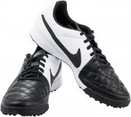Футбольные бутсы   Nike  Tiempo Genio Leather 631284-010   р. 6,5  черный с белым