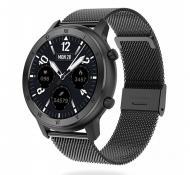 Умные часы NO.1 DT89 Metal с тонометром и пульсоксиметром (Metal-Black)