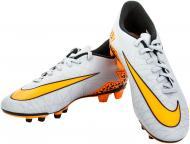 Футбольні бутси   Nike  Hypervenom II 749889-080   р. 10  сірий із помаранчевим