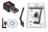 USB Wi-Fi сетевой адаптер Good Idea с внешней антенной (hub_bPGd48535)