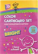Картон кольоровий CF05281 А4 10 аркушів Cool For School
