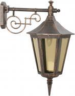 Світильник садовий Інтерклас Прага E27 40 Вт IP44 антична бронза 2261Б