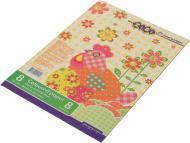 Папір кольоровий Економ 8 кольорів ZiBi