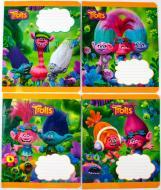 Комплект зошитів Міцар скоба 12 арк клітинка Серія Тролли 25 шт (288615)