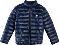 Куртка 4F J4L21-JKUMP200A-31S 164 синій