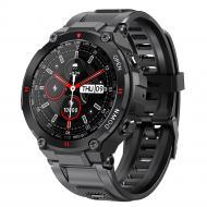 Смарт-часы LEMFO K22 black (тонометр, пульсоксиметр, разговор)