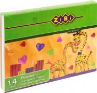 Пластилін зі стеком ZB.6204 14 кольорів 280 г ZiBi